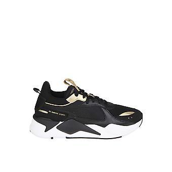 Puma sort læder Sneakers