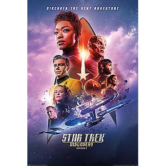 Star Trek Discovery Poster Season 2 Discover The Next Adventure