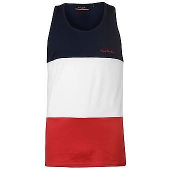 Pierre Cardin Mens Large Cut and Sew Vest Sleeveless Tank Top T-Shirt T Shirt