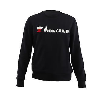 Moncler Blue Cotton