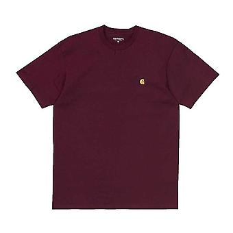 Carhartt Chase t-skjorte Cranberry