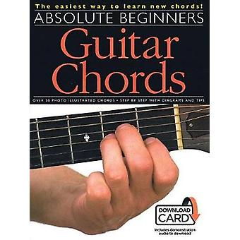 Absolute Beginners - Guitar Chords - 9781785584688 Book