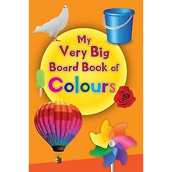 My Very Big Board Book of Colour by Pegasus - 9788131939093 Book