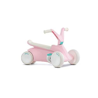 BERG GO2 2 in 1 Push and Pedal Go Kart Pink