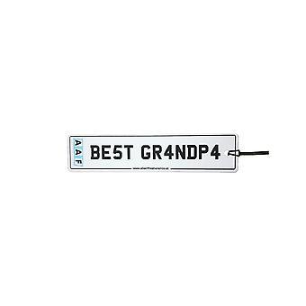 AAF - bedste bedstefar nummer plade bil luftfriskere