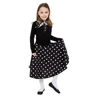 Bristol Novelty Childrens Girls Rock N Roll Skirt Set