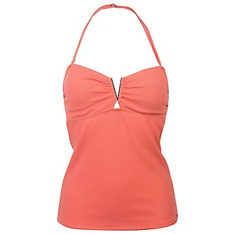 SoulCal Womens V tankini Top tie infästning badkläder