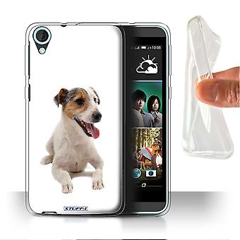 STUFF4 Gel/TPU Case/Cover for HTC Desire 820s Dual/Jack Russell Terrier/Dog Breeds