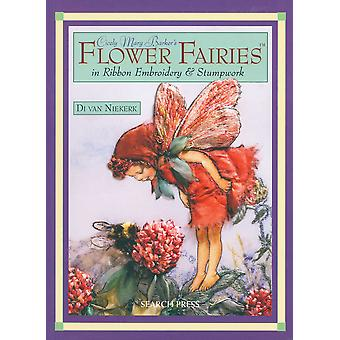 Search Press Books Flower Fairies In Ribbon Embro Sp 84300