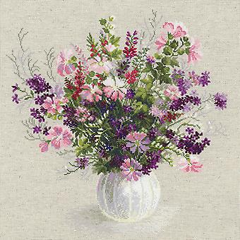 Summer Bouquet Counted Cross Stitch Kit-19