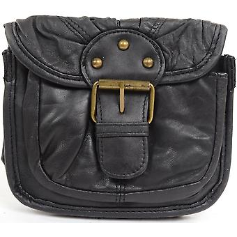 Ladies / Womens Small Soft Nappa Leather Evening Across Body / Shoulder Bag