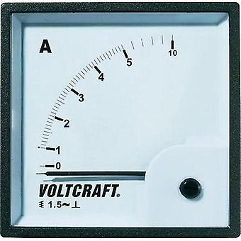 VOLTCRAFT AM-72X72/5A Analogue panel-mount measuring instrument