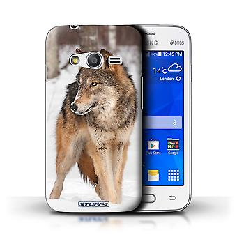 STUFF4 Case/Cover for Samsung Galaxy S Duos 3/G313/Wolf/Wildlife Animals