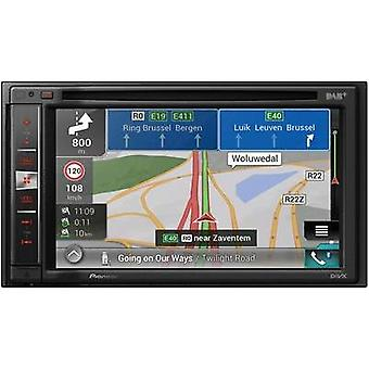 Pioneer AVIC-F980DAB Sat nav (fitted) Europe DAB+ tuner, Built-i