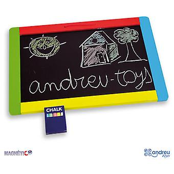 Andreu Toys Magnetic Chalkboard (Toys , Educative And Creative , Tables And Desks)