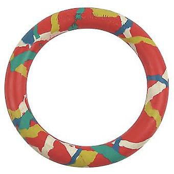Arquivet Red Rubber Ring 14 Cm (Dogs , Toys & Sport , Frisbees & More)