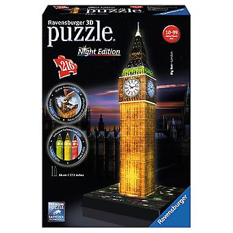 Ravensburger 3DPuzzel Big Ben night 216