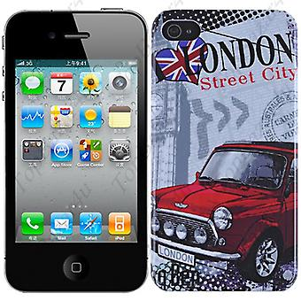 IPhone cover 4/4S-London (Mini)