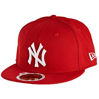 New era 59Fifty Fitted KIDS Cap - NY Yankees red / white