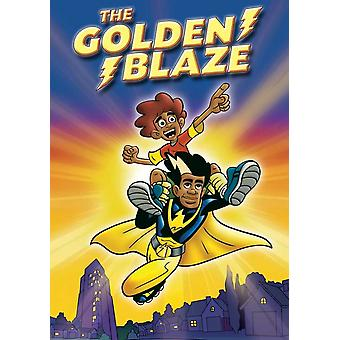 The Golden Blaze Movie Poster (11 x 17)