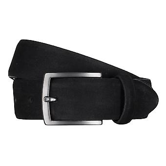 SAKLANI & FRIESE belts men's belts leather black 5031