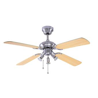 Ceiling Fan Bali with lighting 107 cm / 42