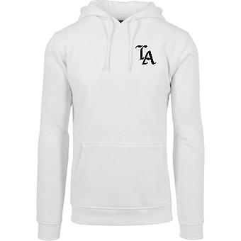 Mister camiseta Hoody - blanco LOS ANGELES