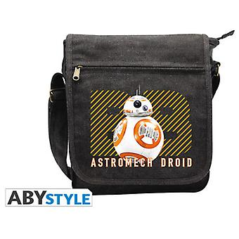 Abysse Star Wars Messenger Bag Bb-8 Small Size With Hook (Toys , School Zone , Backpacks)