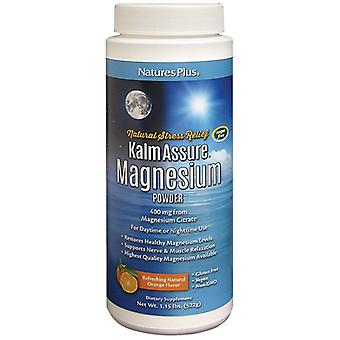 Natures Plus Kalm versichern Magnesiumpulver 400mg 522g