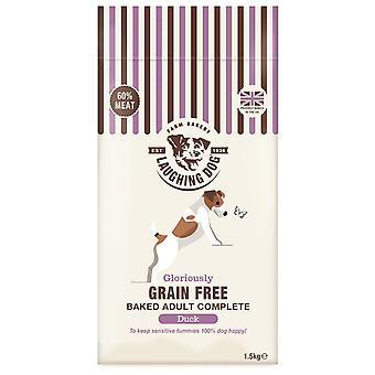 Griner hund korn gratis komplet Duck 1,5 kg
