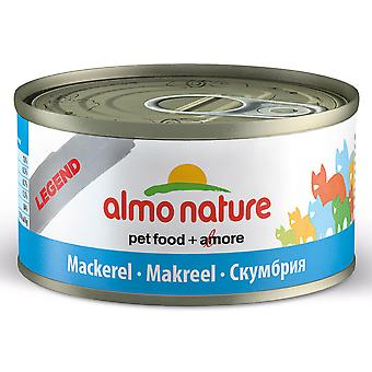 Almo Nature Hfc Natural Cat Adult Mackerel 70g (Pack of 24)
