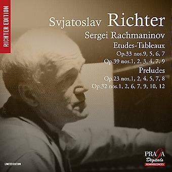 Rachmaninov / Richter - Etudes-tableauer Præludier [SACD] USA import