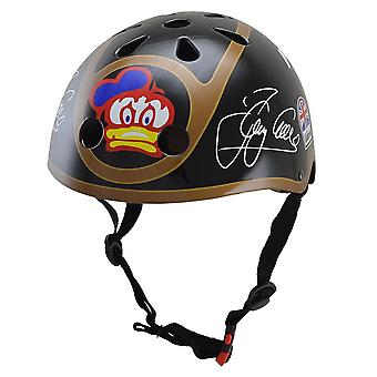 Kiddimoto Official and Signed Barry Sheene Helmet
