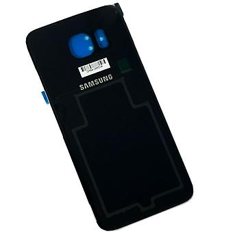 Samsung Galaxy S6 G920 G920F battery cover cover + adhesive pad black