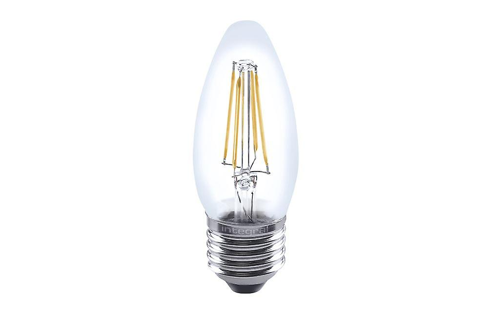3R2/I1:E27 Full glass 4.5W eq. to 40W 2700K 470Lm Filament Dimmable 330� clear. ILCANDE27DC042