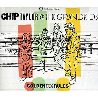 Chip Taylor & the Grandkids - Golden Kids Rules [CD] USA import