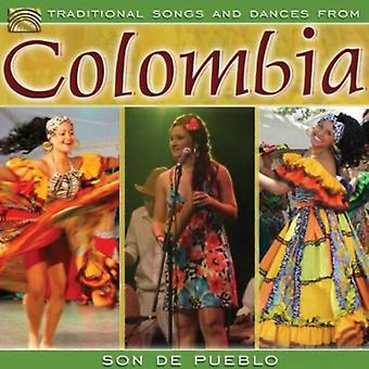 Son De Pueblo - Traditional Song & Dances From Colombia [CD] USA import