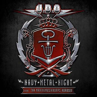 U.D.O. - Navy Metal Night (2CD/DVD) [CD] USA import