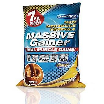 Quamtrax Nutrition Massive Gainer Vainilla 3,7 Kg (Sport , Muscle mass , Proteins)
