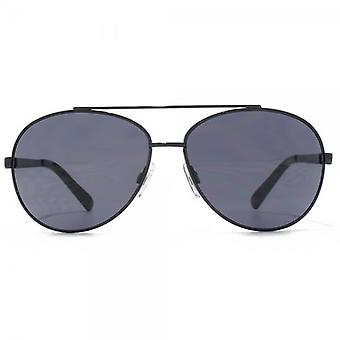 Glare Eyewear Maui Aviator Sunglasses In Black