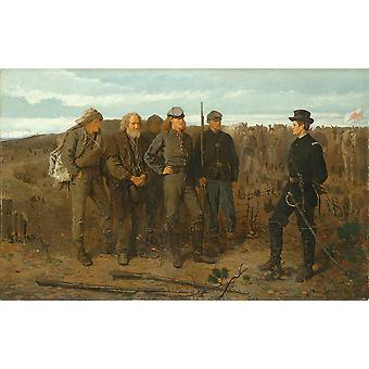 Winslow Homer - Prisoners from the Front Poster Print Giclee