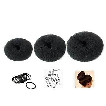 Set of 3 Crowns for Hair Bun