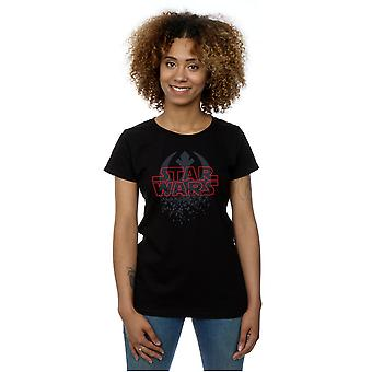 Star Wars Women's The Last Jedi Shattered Emblem T-Shirt