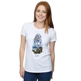 Star Wars Women's The Last Jedi Rey Lightsaber T-Shirt