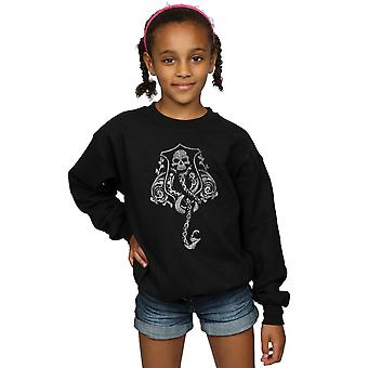 Harry Potter Girls Dark Mark Crest Sweatshirt