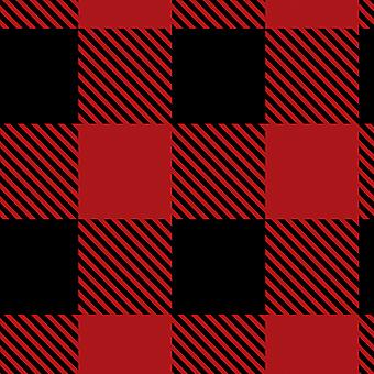 Buffalo Plaid Fleece 58 60