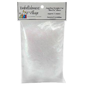 Angelina Straight Cut Fibers 1 2 Ounce Aurora Crystal Ag103 22
