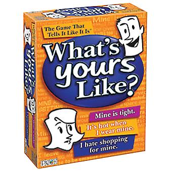 What's Yours Like? Game 7415