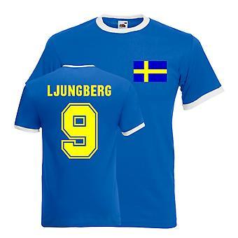 Freddie Ljungberg Sverige Ringer Tee (blå)