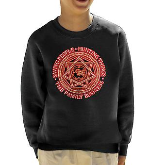 Supernatural The Family Business Kid's Sweatshirt